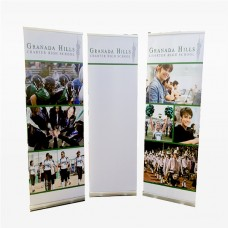 Retractable Banner Stand (including print and hardware)